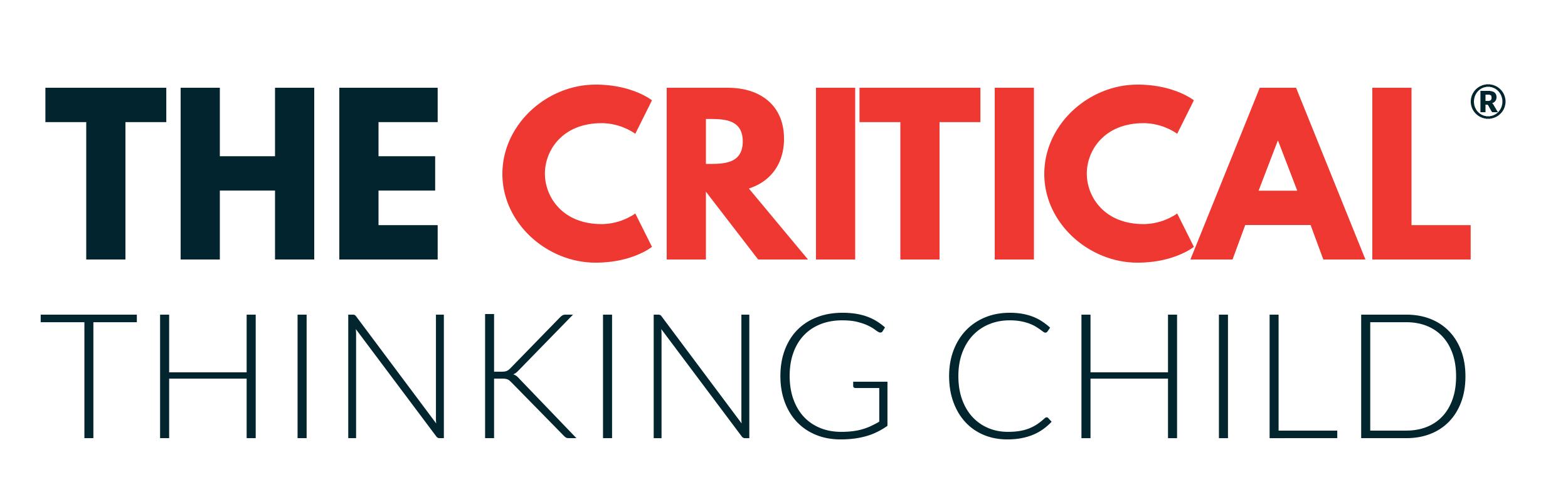 critical thinking child logo