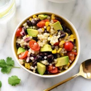 Southwestern Black Bean Couscous Salad Recipe