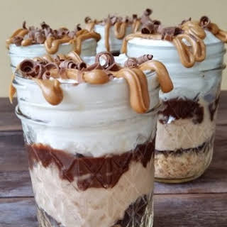Peanut Butter Chocolate Trifle.