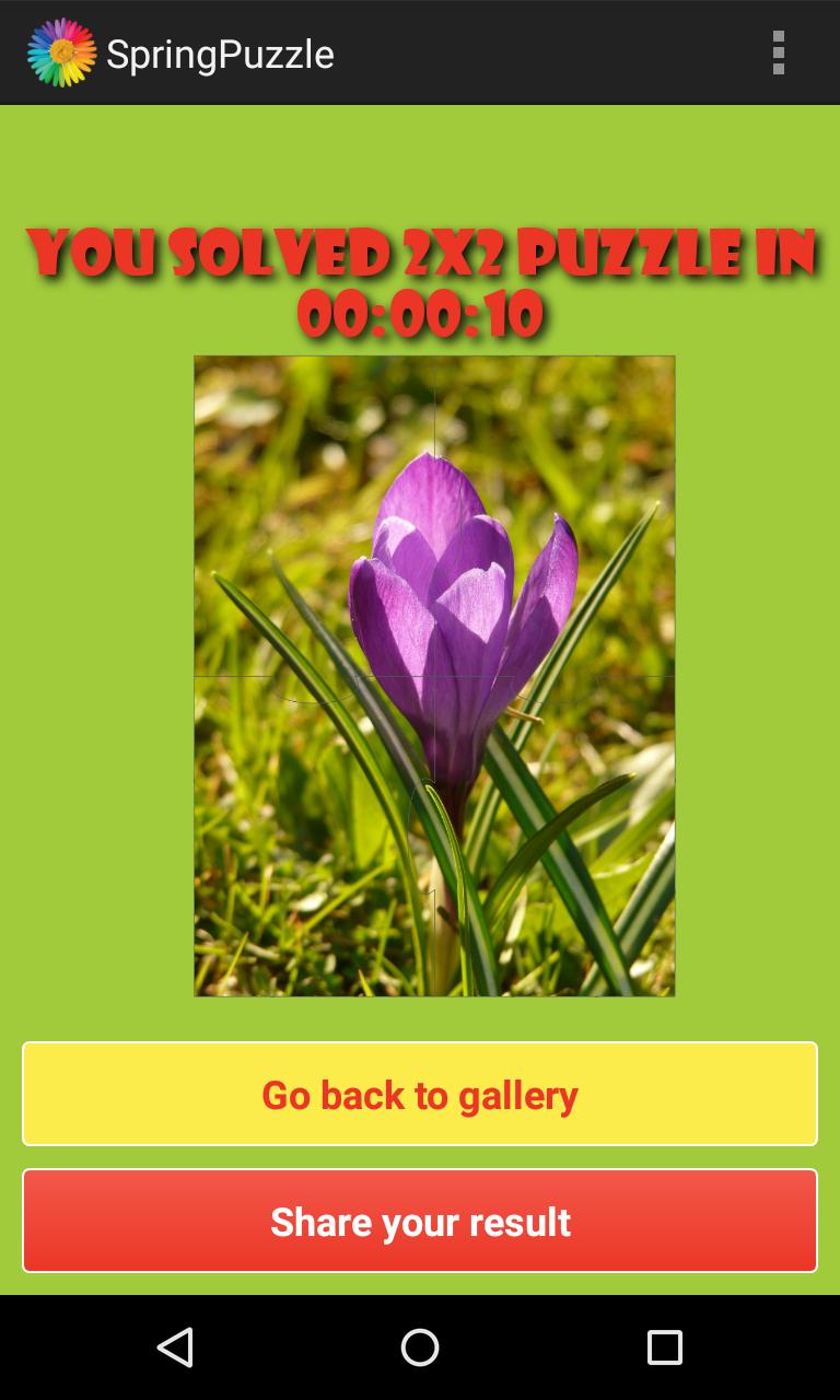 Скриншот Весна Головоломки