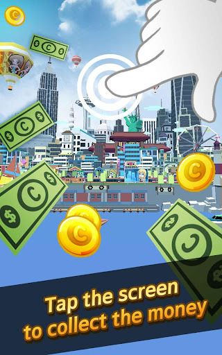 City Growing-Touch in the City( Clicker Games ) screenshot 8