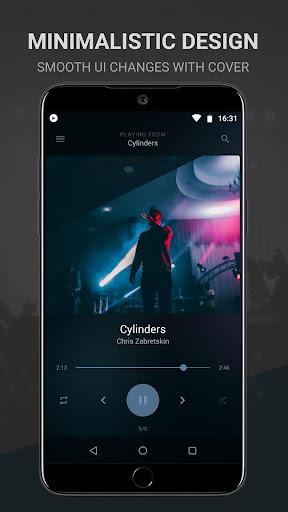 BlackPlayer Free Music Player Apk 1