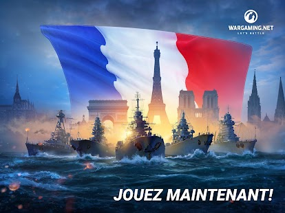 World Of Warship Blitz: Jeu de Bataille Navale Capture d'écran