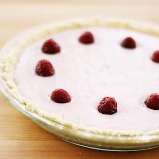 No-Bake Raspberry Cheesecake.