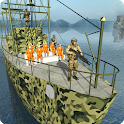 Army Prisoner Games: Transport Cruise Ship Driving icon