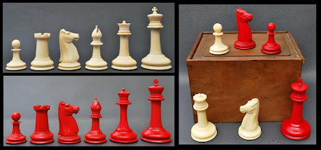 Photo: Marco's set K = 83mm  http://dorland-chess.com/292-ivory-staunton.html