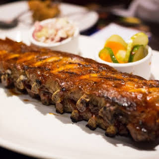 Barbecue Rum Ribs.