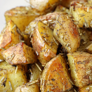 Garlic and Herb Roasted Potatoes.