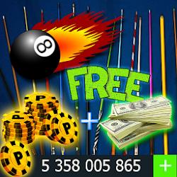 Coins & Cash For 8 Ball Pool simulator