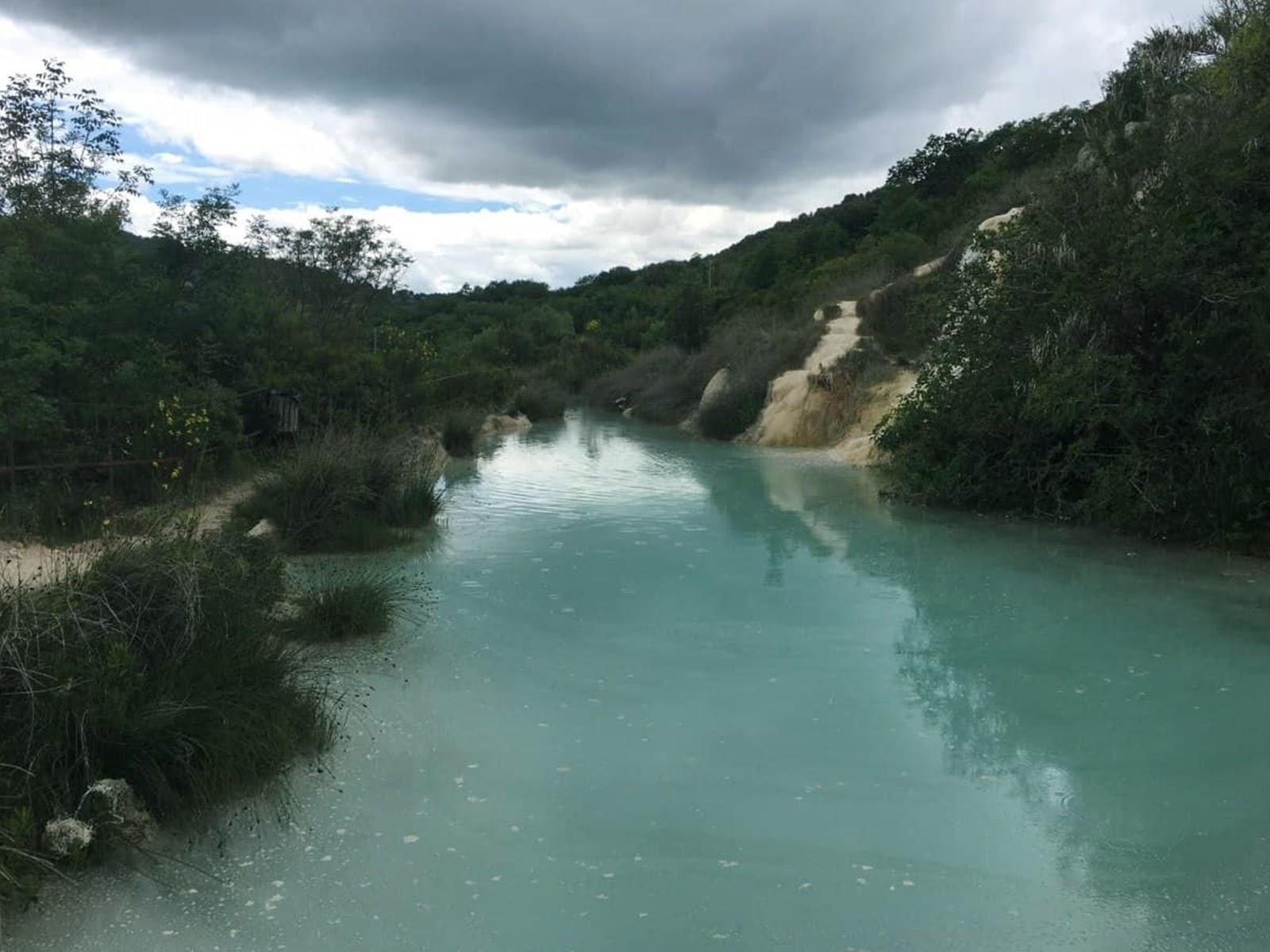 Parco naturale dei Mulini, Bagno Vignoni