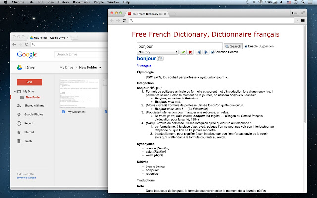 English-french translation of terms...???