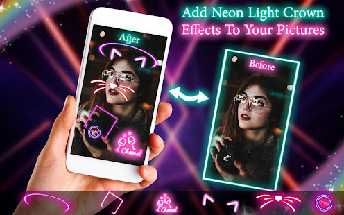 Download Neon filter photo editor - custom neon signs For PC Windows and Mac apk screenshot 4