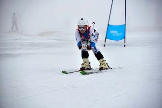 Photo: Catarina Carvalho alcançou o título na pista Perdiz - estância da Serra da Estrela