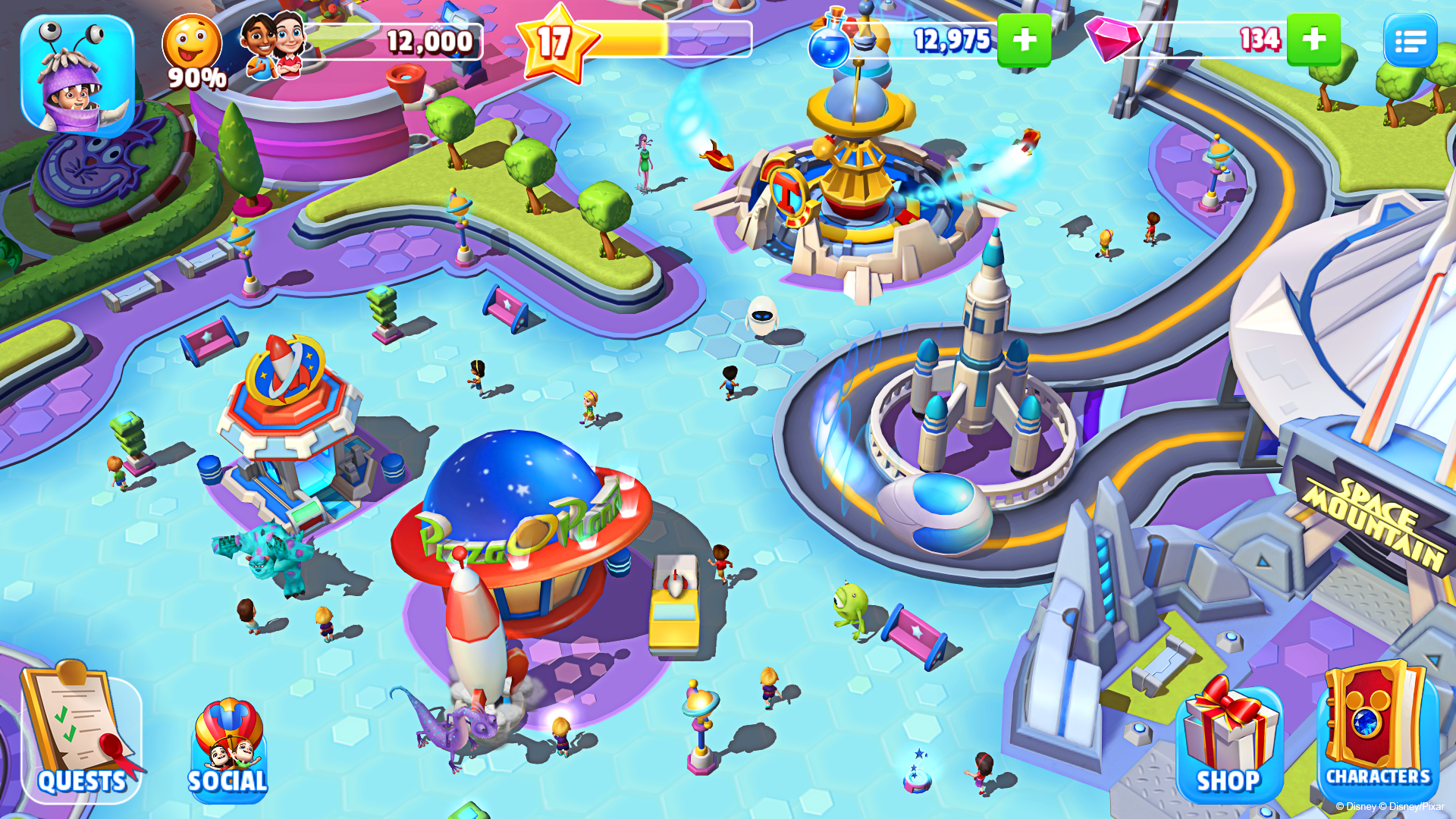 Disney Magic Kingdoms screenshot #12