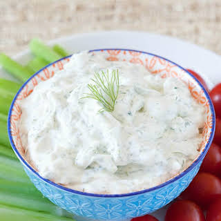 Fresh Dill Yogurt Dip.