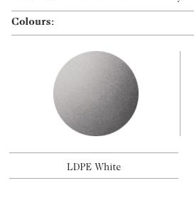 De semi-transparante kleur voor de Twig Plastic zitbanken uit de collectie van Escofet 1886