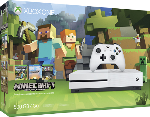 Fun and unexpected Minecraft gifts to give this year, like the Xbox One S bundle