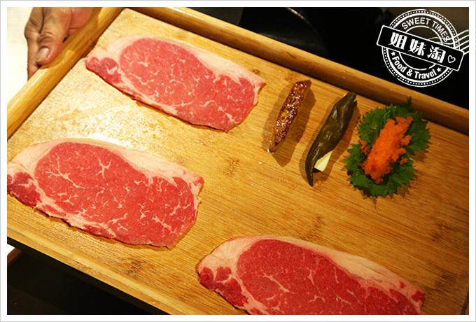 家蒂諾鐵板燒-精緻海陸套餐-三重奏日式牛肉卷 $2280+10%