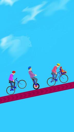 Happy Bicycle Race