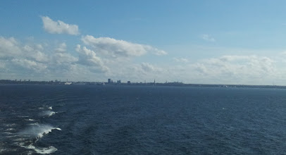 Photo: LEAVING TALLIN IN THE DISTANCE