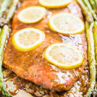 Honey Dijon Roasted Salmon