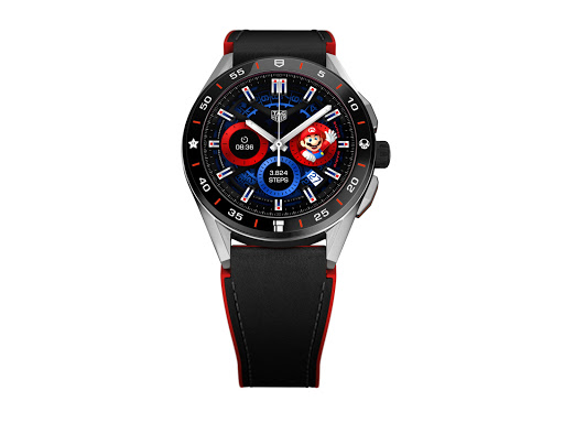 Animation Collaboration: TAG Heuer Partners with Nintendo for the Connected x Super Mario