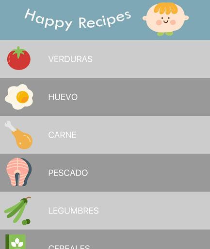 玩免費遊戲APP|下載Happy Recipes - Comidas BLW app不用錢|硬是要APP