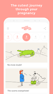 Hello Belly: Cute Pregnancy Guide - náhled