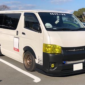 ハイエースバン TRH200V SUPER GL 2018年式のカスタム事例画像 keiji@黒バンパー愛好会さんの2020年01月02日20:39の投稿