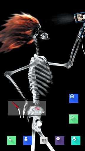 Rakish Skeleton