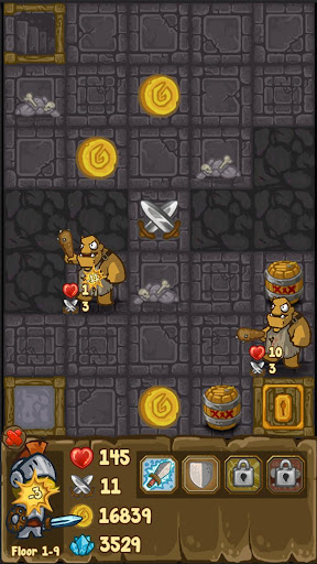 Télécharger Gratuit Dungeon Loot - dungeon crawler APK MOD (Astuce) screenshots 1