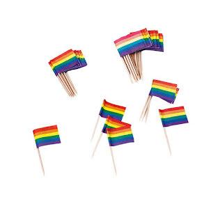 Cocktailflaggor, pride