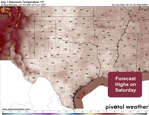 The HEAT is ON This Weekend! Welcome to Summer in Texas!