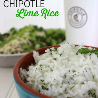 CopyCat Chipotle Lime Rice
