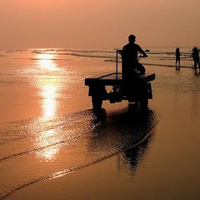 INDIAN BAY by Ajit Kumar Majhi - Landscapes Sunsets & Sunrises (  )