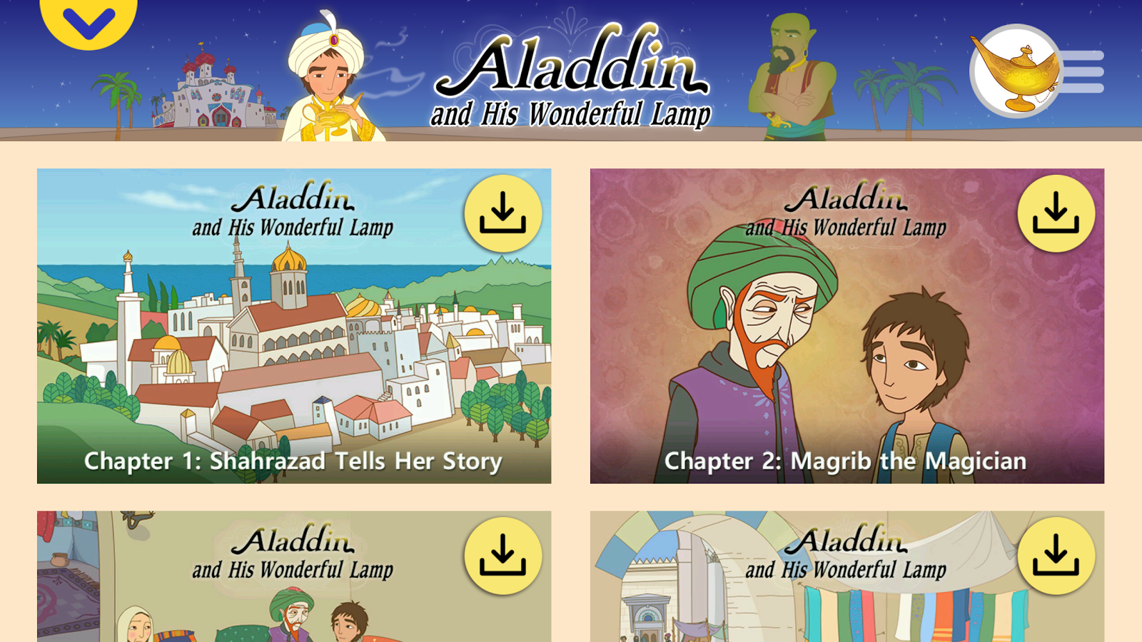 Aladdin - Storybook- screenshot
