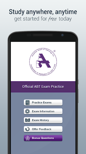 Official ABT Exam Practice