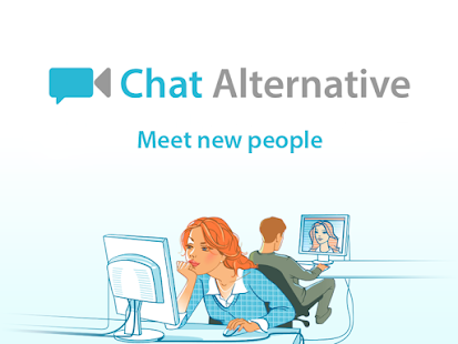Chat Alternative — android app - náhled