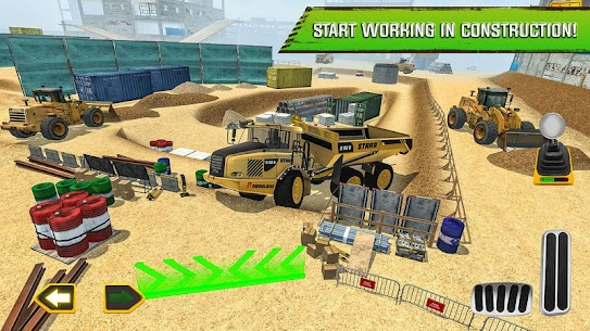 Construction Site Truck Driver App Download For Android and iPhone 6