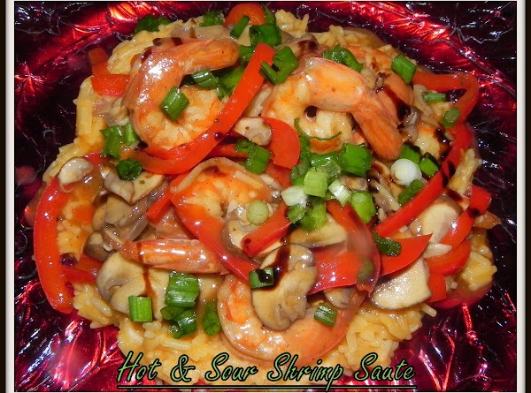 Plate your shrimp mixture over a bed of your favorite rice. Add your chopped...
