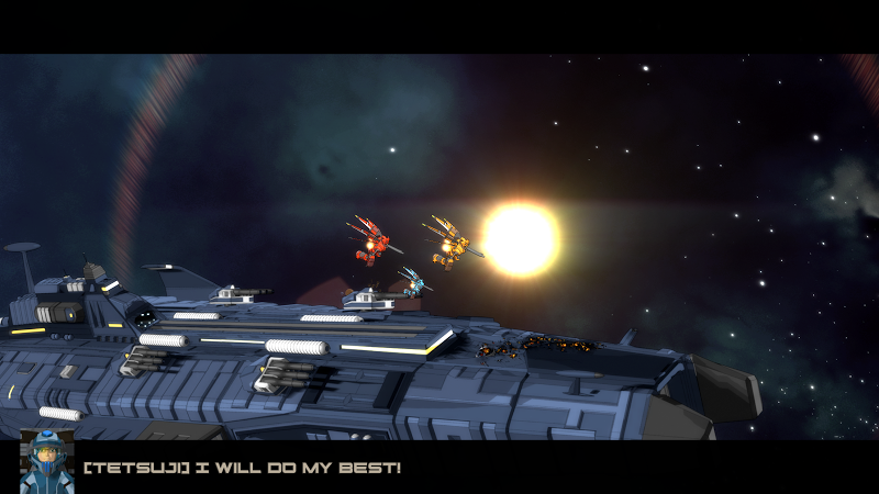 Quantum Revenge - Mecha Robot Space Shooter Screenshot