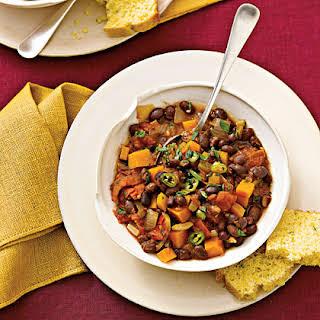 Black-Bean Chili With Winter Squash.
