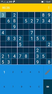Ekstar Sudoku Screenshot