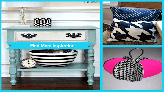Amazing DIY Houndstooth Projects - náhled