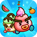 Fruit & Ice Cream - Ice cream war Maze Game icon
