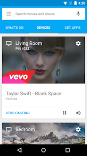 Google Cast Screenshot 3