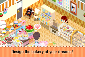 Screenshot of Bakery Story™