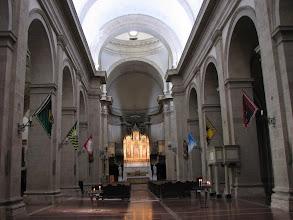 Photo: A church interior in Montepulciano.