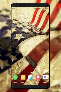 USA Flag Wallpaper - náhled