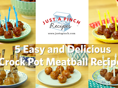 5 Easy and Delicious Crock Pot Meatball Appetizer Recipes